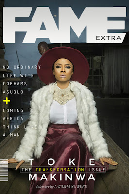 My first date after my separation, I cried on my way home – Toke Makinwa reveals as she covers Fame Extra magazine