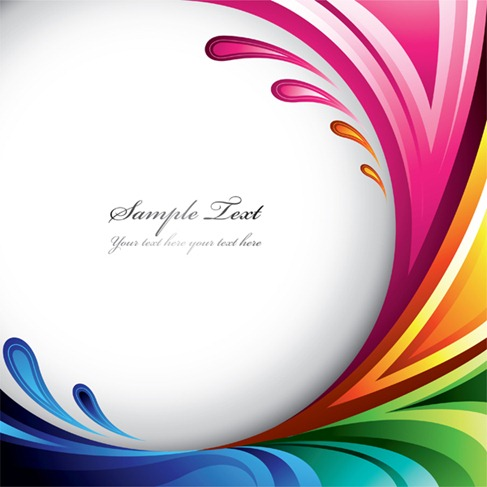 Symphony dynamic lines background vector graphics for Design online