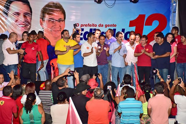 Lideranças do Itaqui-Bacanga unidos por vitória de Edivaldo. Foto: A. Baeta