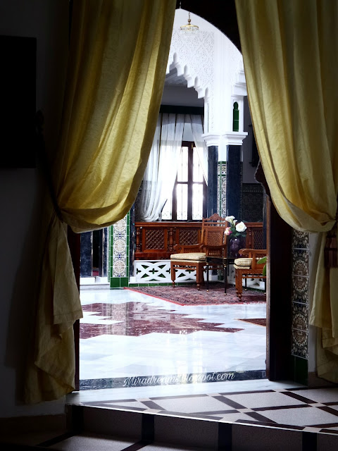 J'ai passé mon séjour dans un Riad