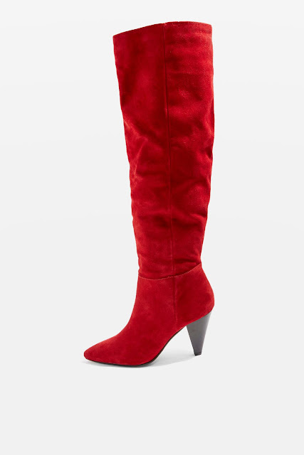 TOPSHOP BOX KNEE HIGH BOOTS. AW17