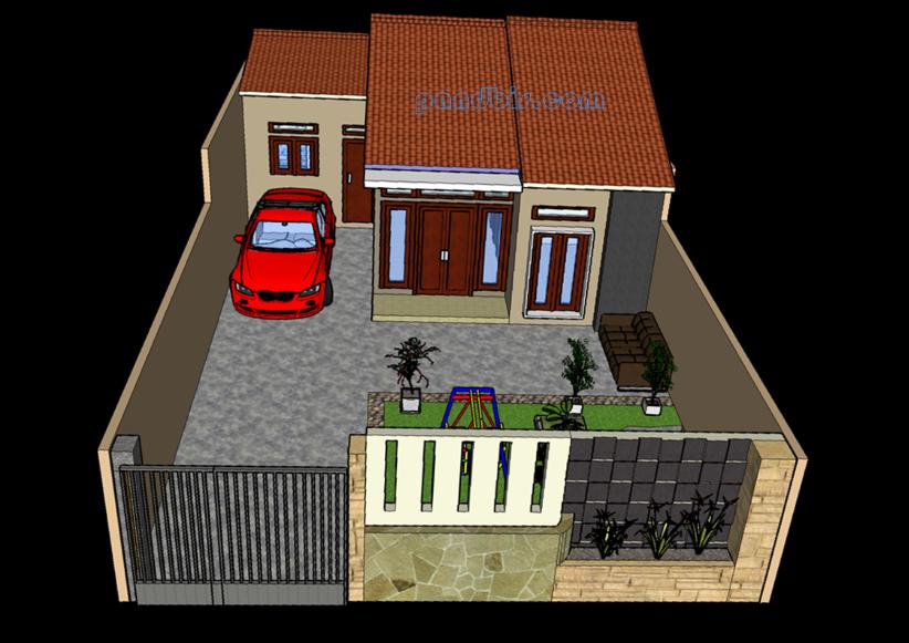 Desain Rumah Minimalis Modern Keren Dan Lengkap Dengan Ukurannya - PandBis