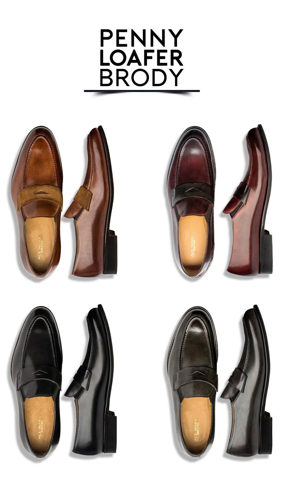 8c2c16be088 They wanted to provide professionals with the ability to wear a dress shoe  that is very stylish but still professional. Ace Marks were designed for  the ...