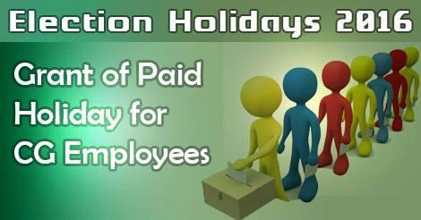 election-holidays-2016-CG-Employees