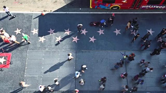 Calçada da Fama em Los Angeles