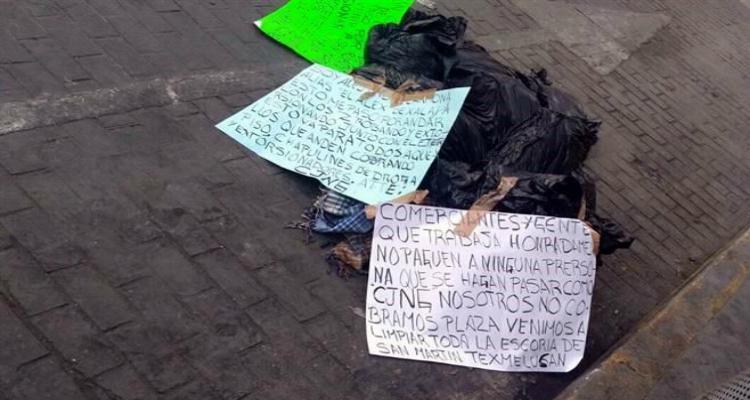 """""""De nosotros nadie escapa Atte: """"CJNG"""": Dejan narcomensajes  junto dos presuntos """"Zetas"""" ejecutados en Puebla"""