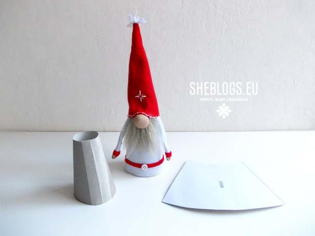 DIY Χριστουγεννιάτικα ξωτικά