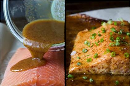 Dijon Maple Glazed Salmon