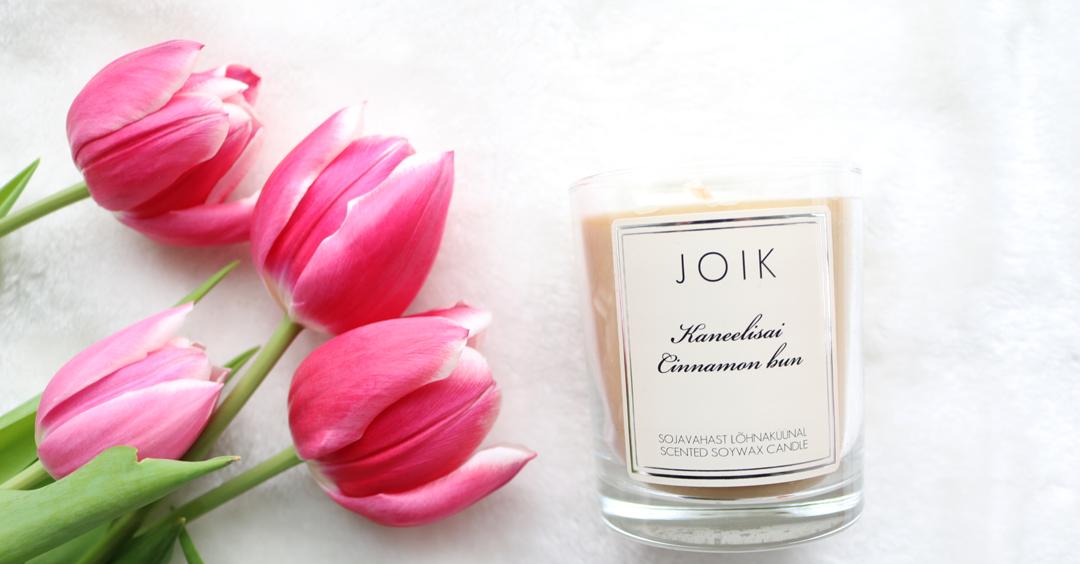 JOIK Cinnamon Bun Candle