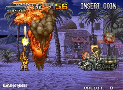 Metal Slug X (Neogeo) - Download Game PS1 PSP Roms Isos