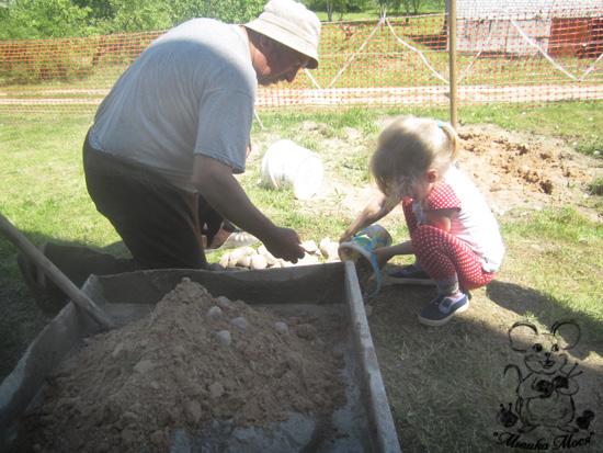 детская площадка на даче, как самому построить детскую площадку на даче