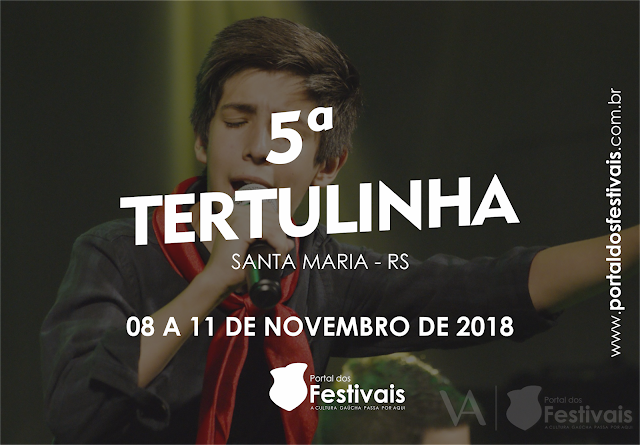 Vem aí a 5ª Tertulinha, festival que acontece junto à 26ª Tertúlia Musical Nativista