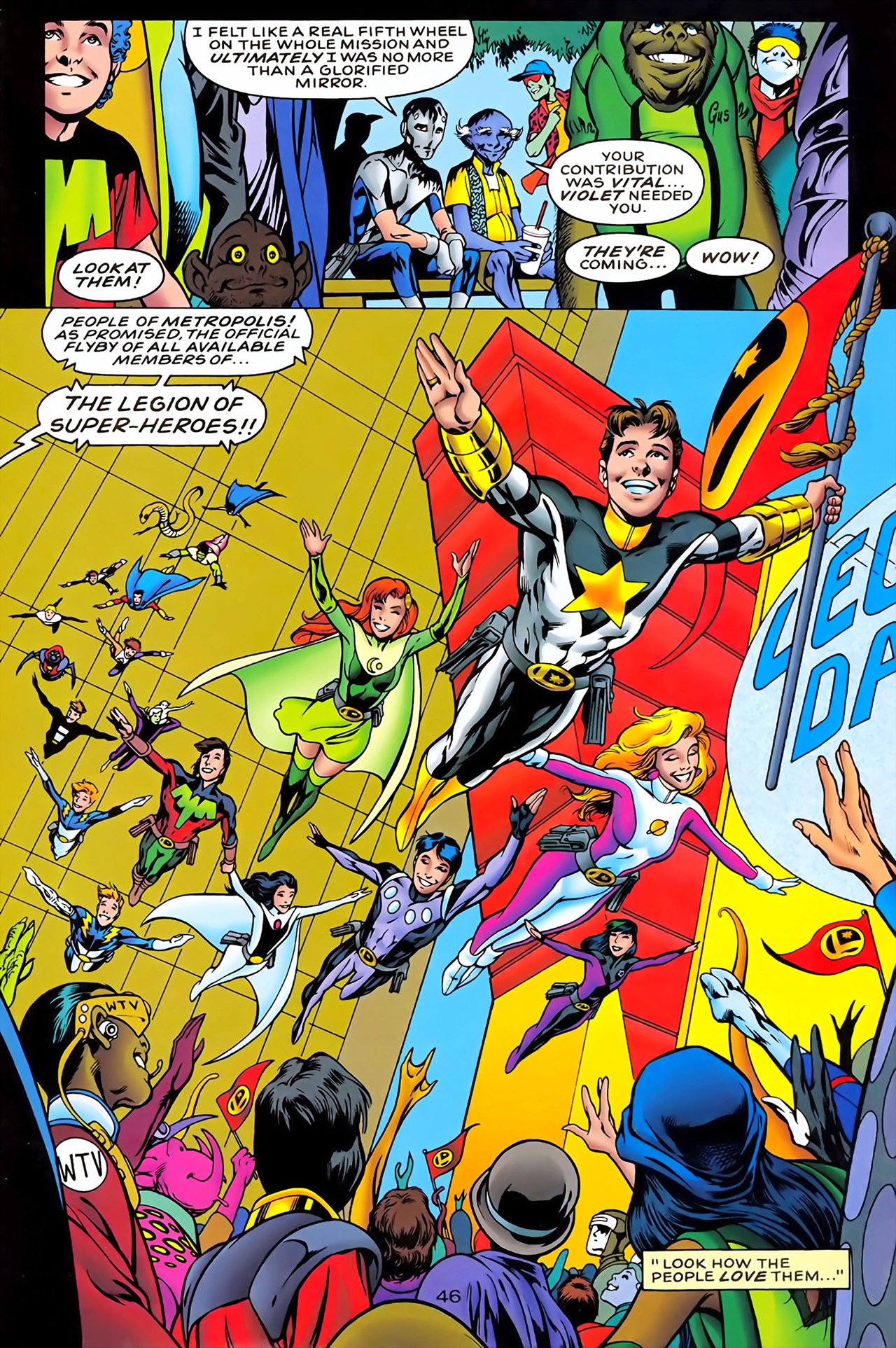 Legion of Super-Heroes (1989) 100 Page 42
