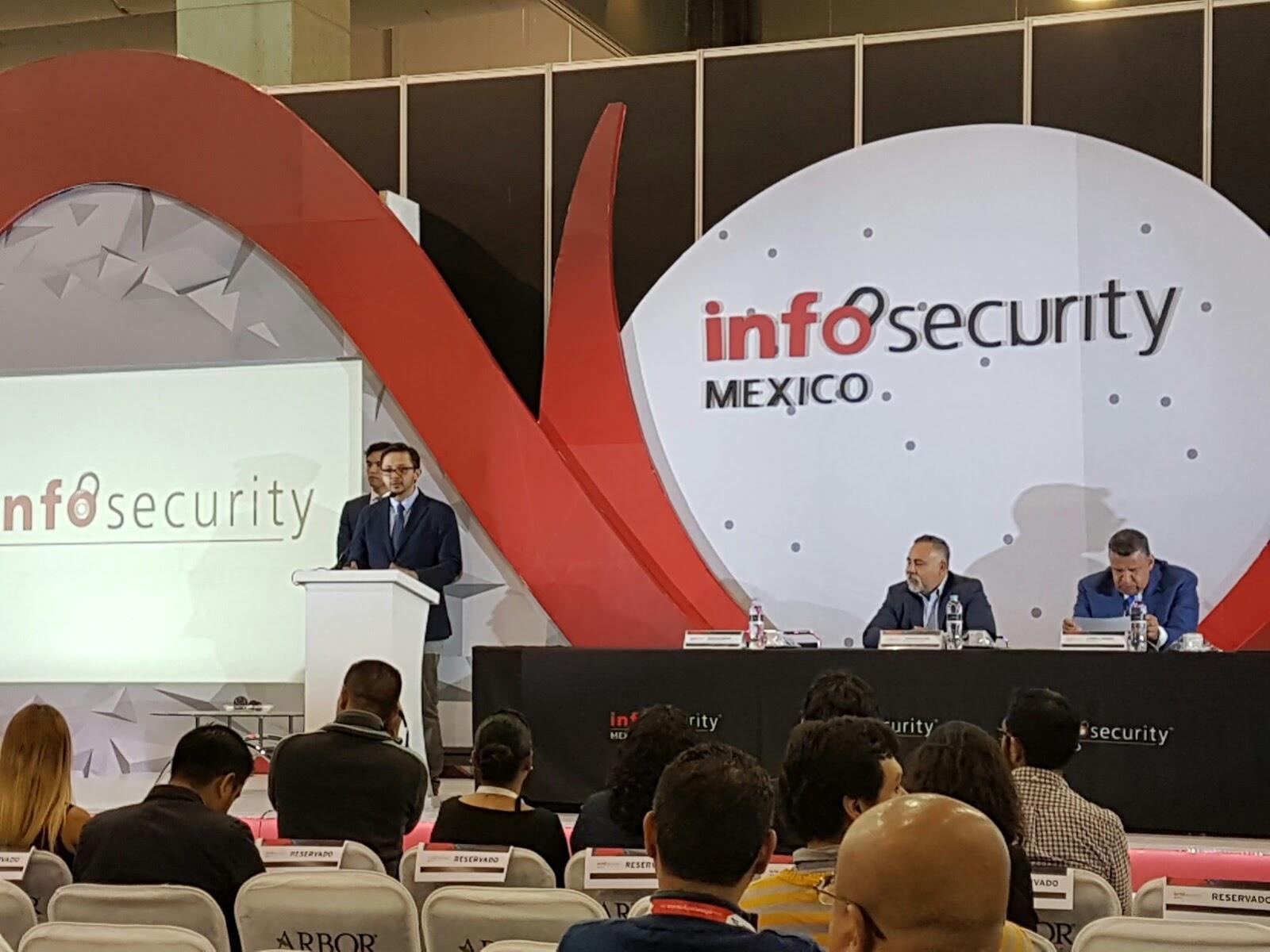 Infosecurity mexico el evento m s relevante en seguridad de la informaci n para m xico y am rica latina llev a cabo su inauguraci n con la presencia de