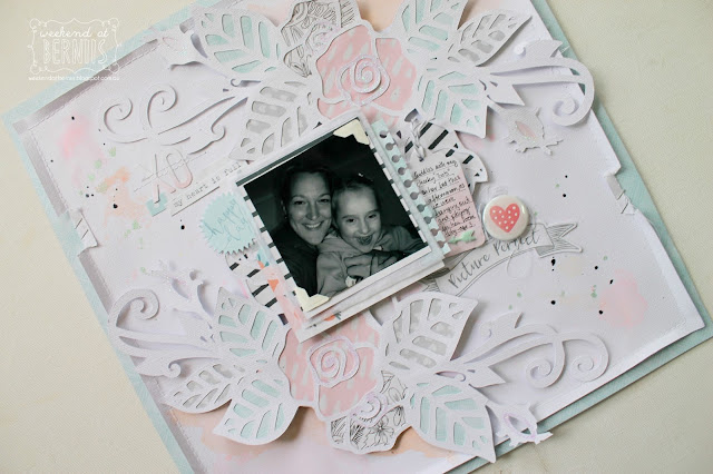 """ Picture Perfect"" layout by Bernii Miller using Cocoa Vanilla Studio with the Love Always collection."