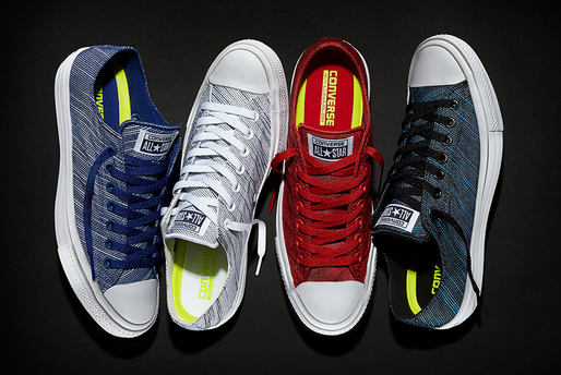 d87282fa0400f8 The new Converse Chuck Taylor All Star II Knit collection colourways  includes Volt Green