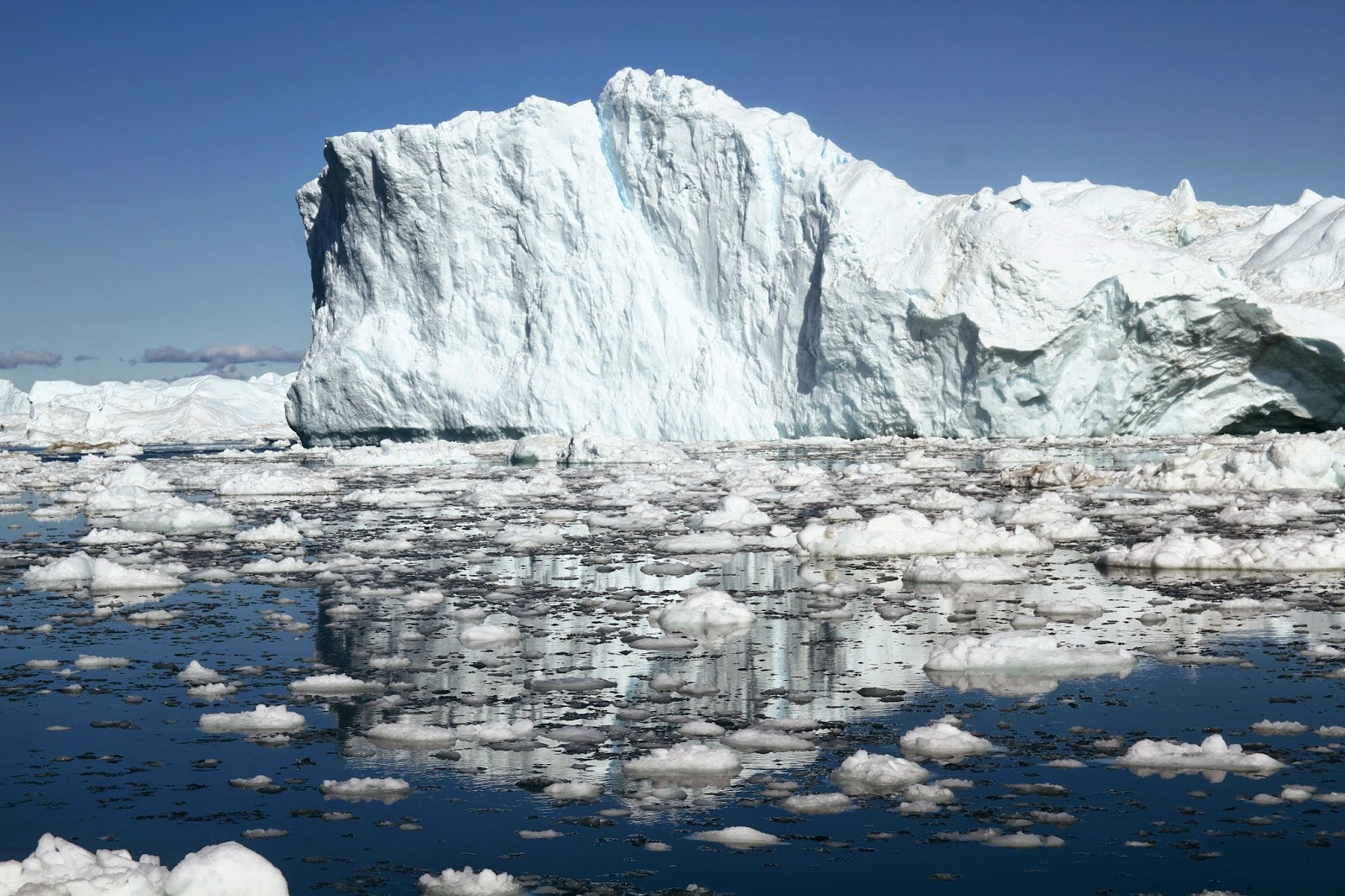 O GLACIAR ILULISSAT KANGERLUA - O mundo dos gelos polares no Fiorde Gelado de Ilulissat | Gronelândia
