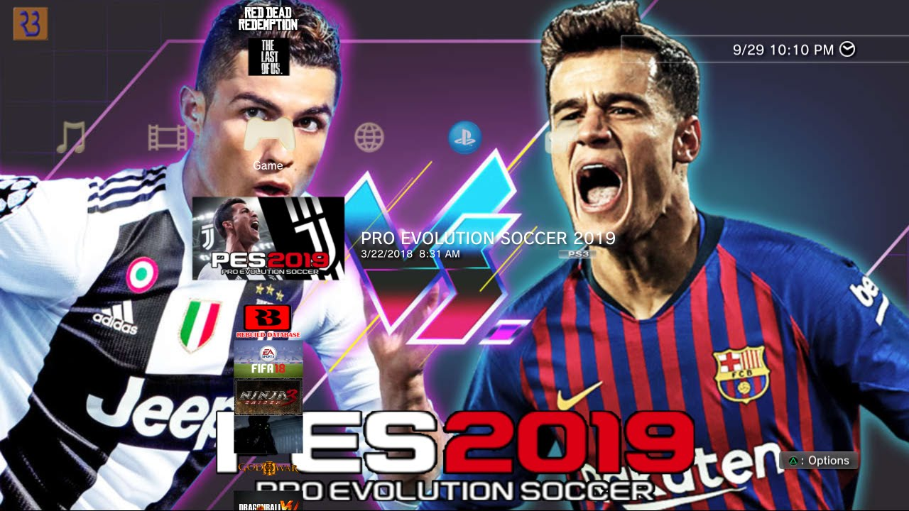 Download PES 2019 PS3 Background 2