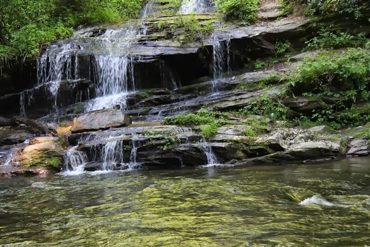 Tom Branch Falls, Bryson City, North Carolina