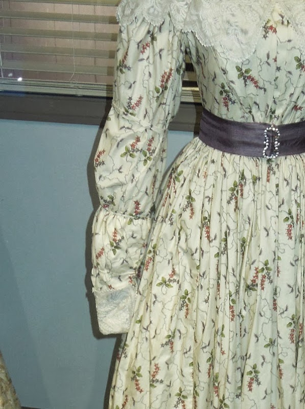 Les Miserables Cosette movie costume detail