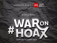 Memperingati Milad Ke-6, JITU Deklarasi WAR On HOAX