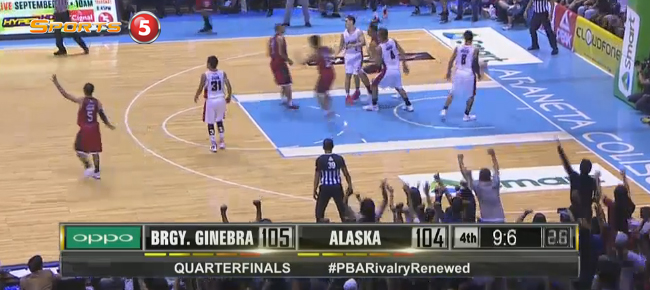 HIGHLIGHTS: Ginebra vs. Alaska (VIDEO) September 23 - Quarterfinals