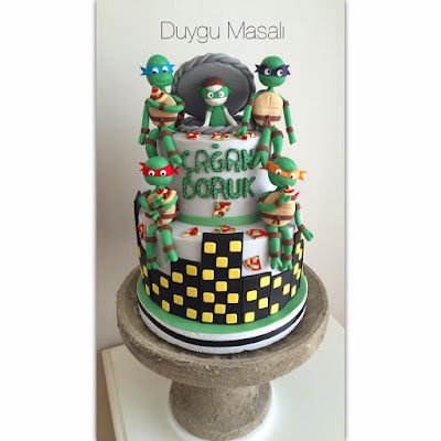edirne ninja kaplumbağa butik pasta