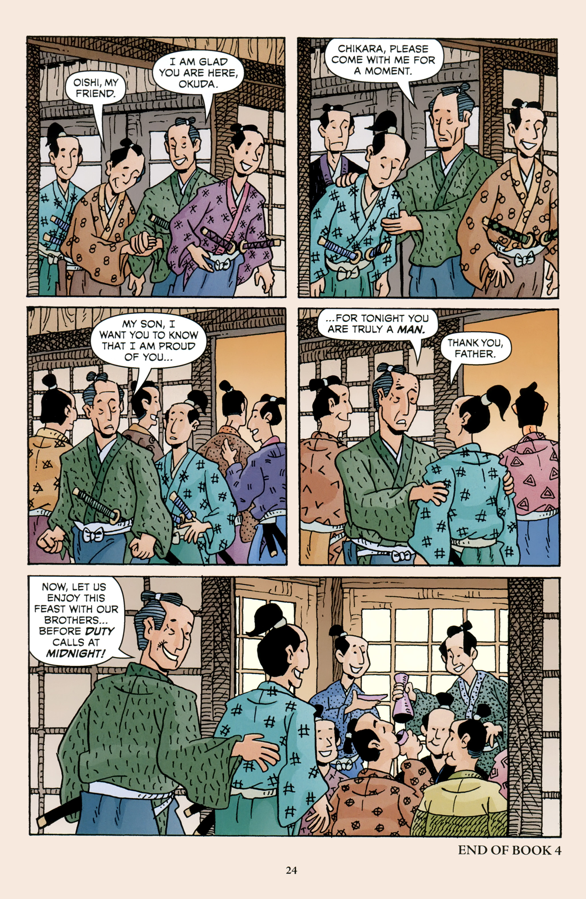 Read online 47 Ronin comic -  Issue #4 - 26