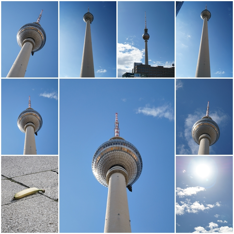 Blog + Fotografie by it's me! - Bloggertreffen in Berlin - Collage Funkturm