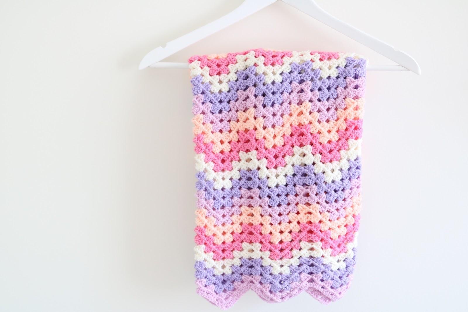 Crochet Granny Chevron Blanket Tutorial Bella Coco By Sarah Jayne