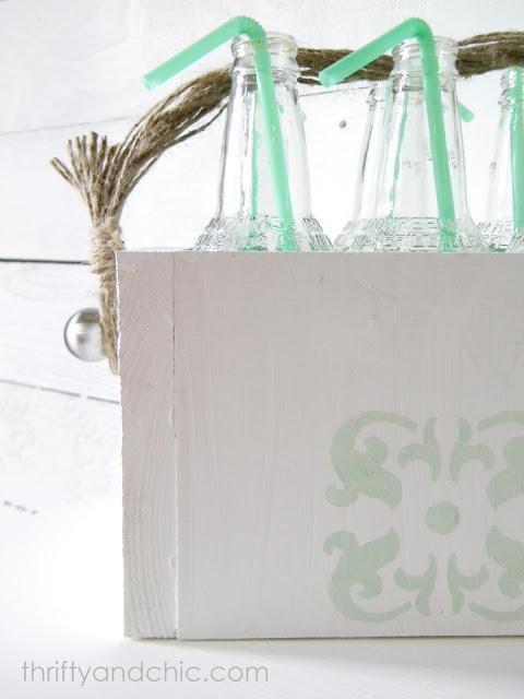 玻璃瓶载体