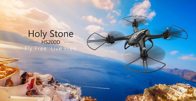Holy Stone HS200D FPV RC Drone Review