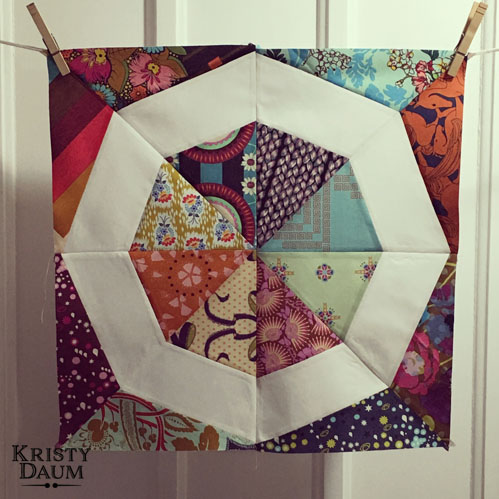 Spinning Stars Block // St. Louis Folk Victorian - Kristy Daum