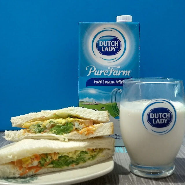 #dutchladybreakfastchallenge , Dutch lady, dutch lady pure farm, Dutch lady Purefarm Full Cream, Cabaran sarapan pagi Dutch Lady, Mulakan Hari Dengan Kebaikkan Susu Dutch Lady
