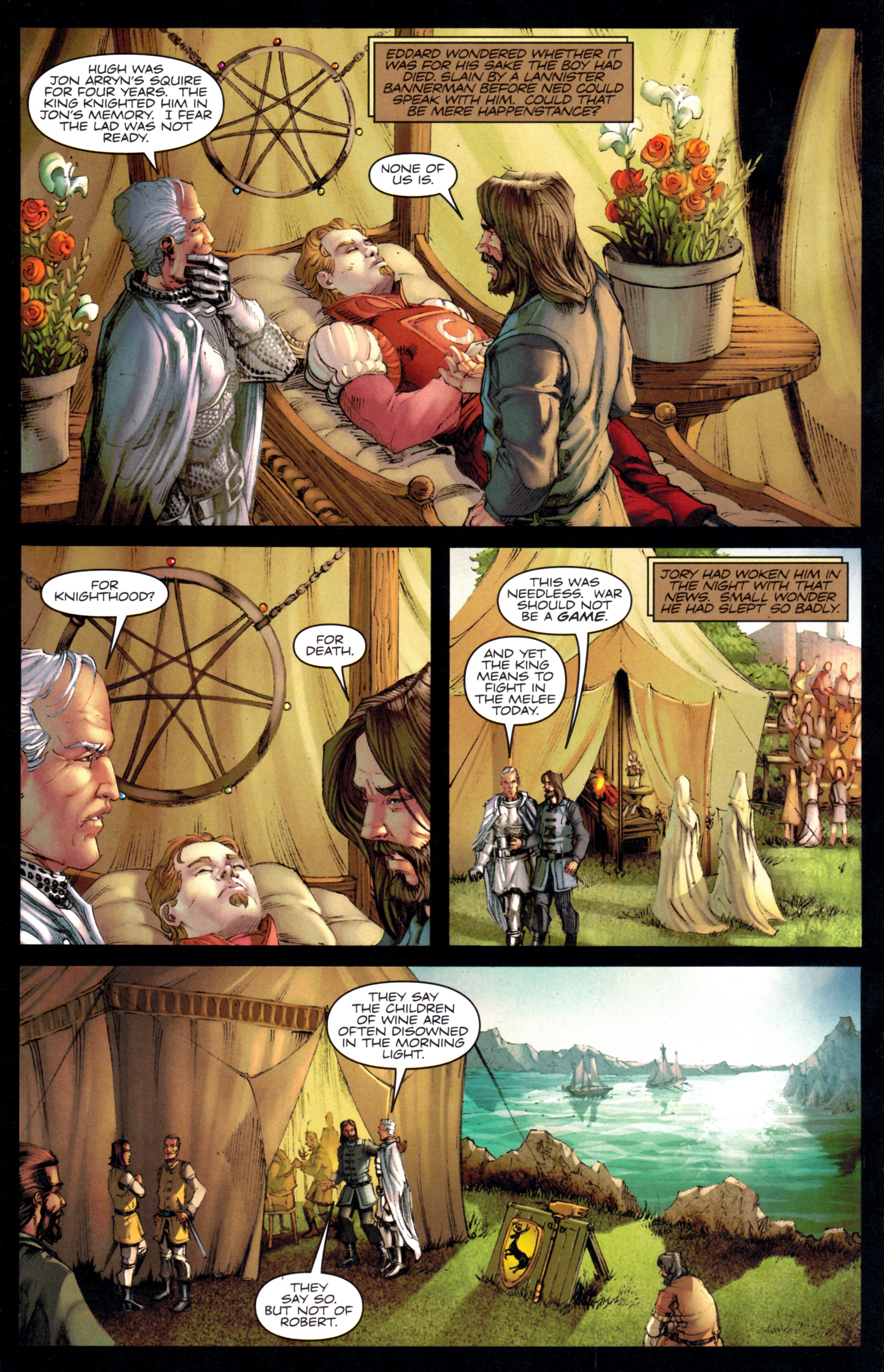 Read online A Game Of Thrones comic -  Issue #9 - 20