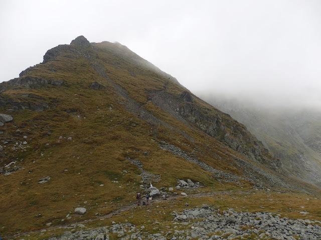 Górskie rozdroże na Saua Caprei