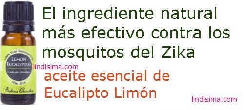 repelentes naturales contra el Zika