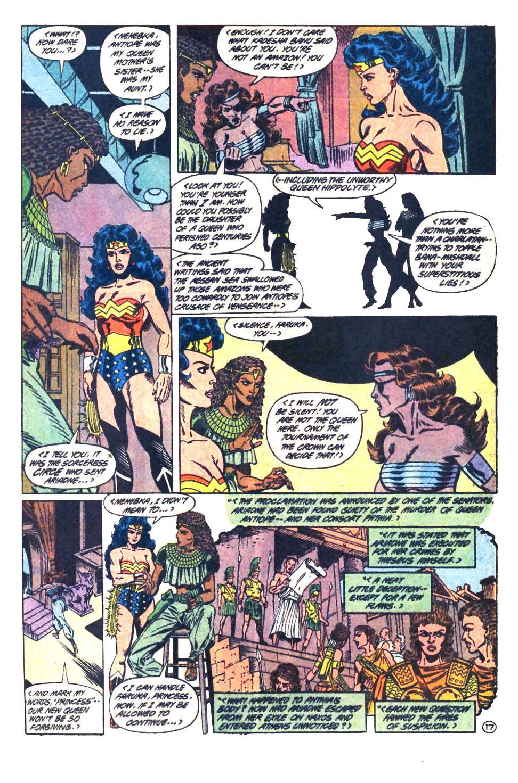 Read online Wonder Woman (1987) comic -  Issue #33 - 18