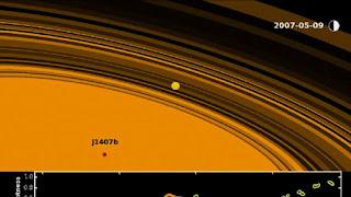 Planet J1407b, Planet Super Saturnus yang Memiliki Cincin Super Besar