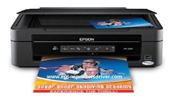 Epson XP-200 Printer Setup Install