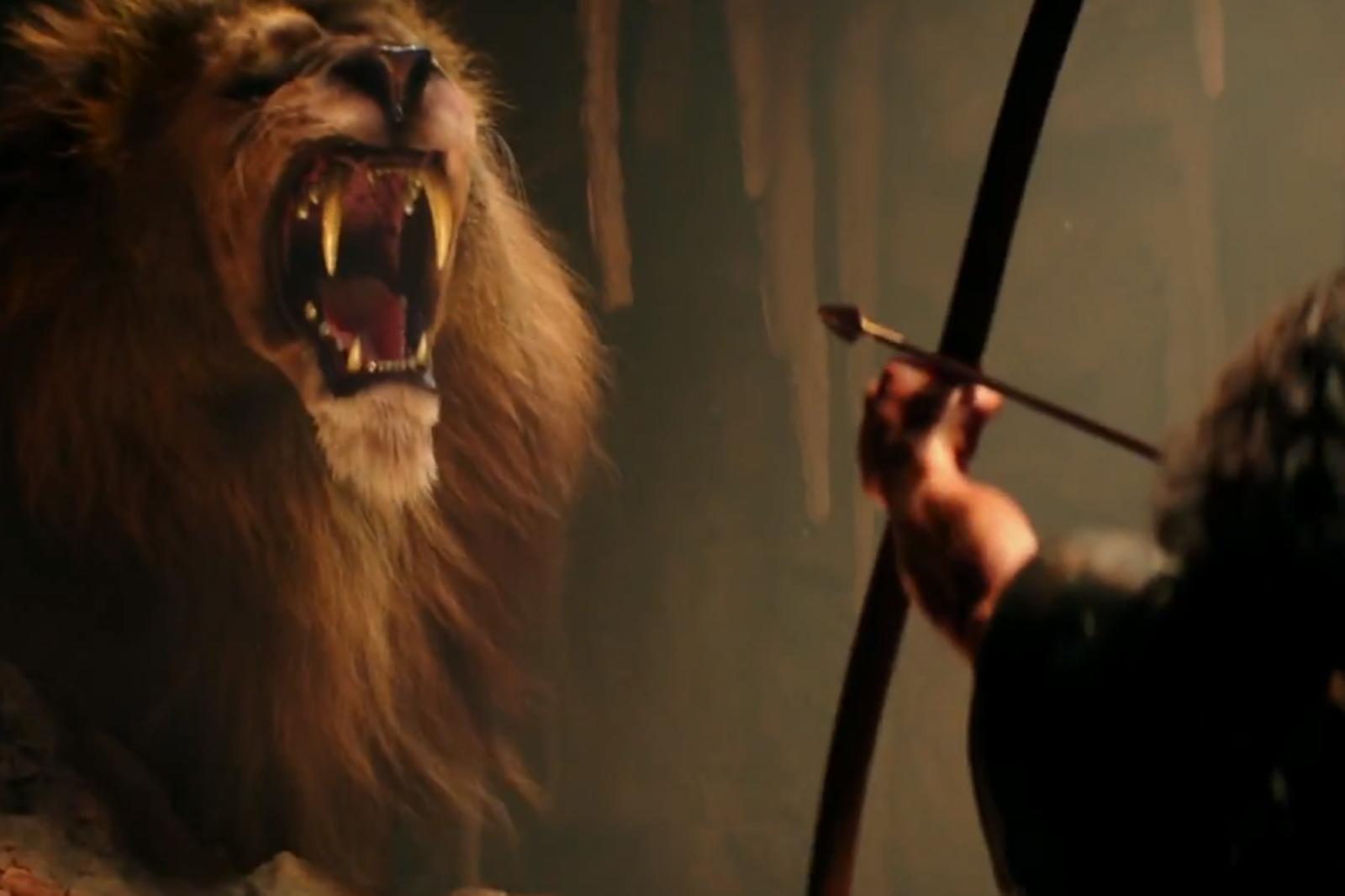 hercules vs nemean lion - HD1600×1066