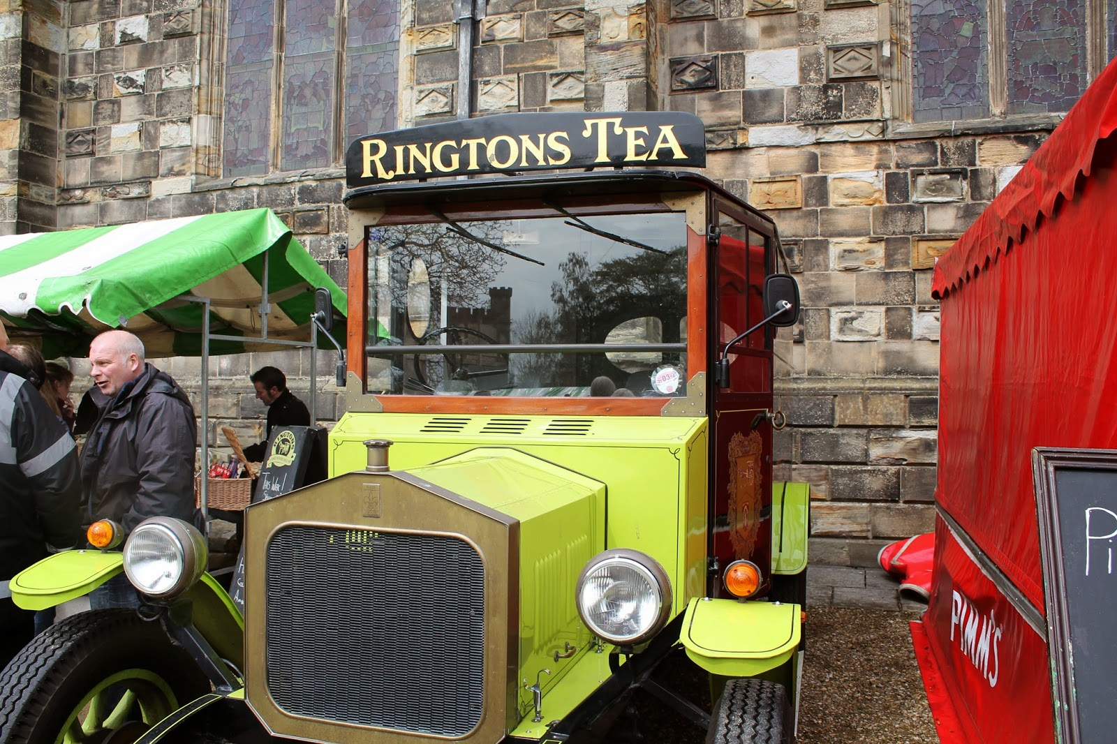Bishop Auckland Food Festival 2014 - Rington Tea Car