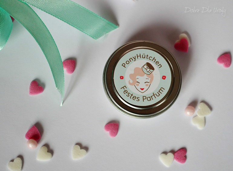 Pony Hütchen Bio Festes Parfum twarde perfumy