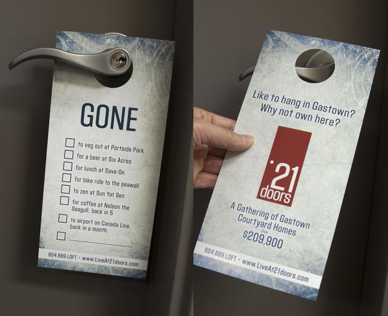 Promotional Door Hangers Take Your Business To Their Doorstep