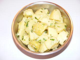 salate, retete cartofi nature, retete de mancare, retete culinare, cartofi trasi la tigaie,
