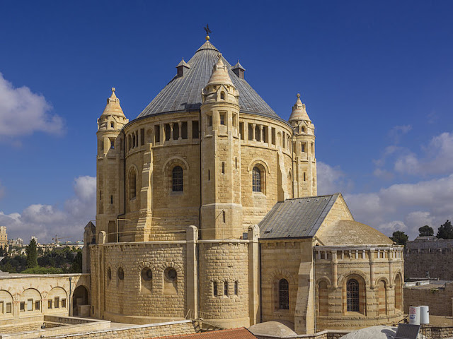 Dormition Abbey Jerusalem Israel