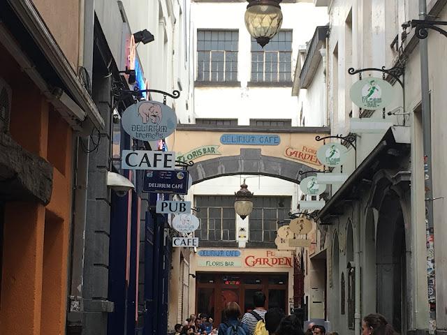 A Vila do Delirium Café - Bruxelas - Bélgica