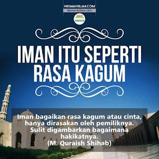 Meme Islami Iman Itu Seperti Rasa Kagum