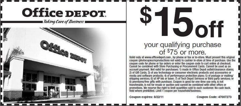 Office depot technology coupons online / Ua coupons uniforms
