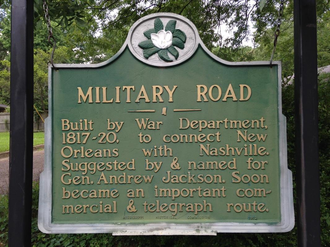 Tammany Family Military Road History